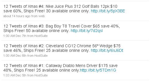 Golf Town Twitter