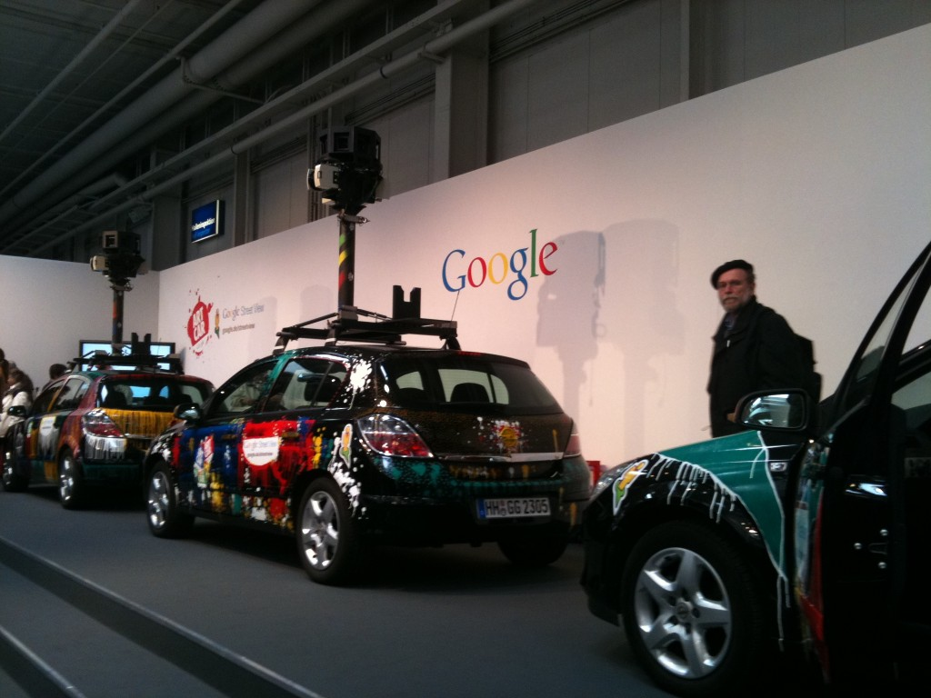 Messe Marketing - Eye Catcher - Google Cars