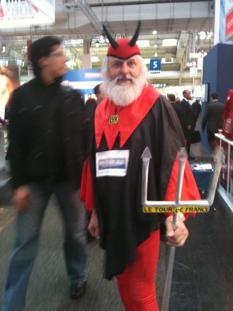 Messe Marketing - Mobiler Eye Catcher - Tour de France Teufel