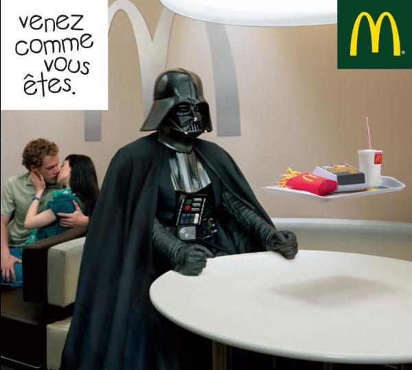 McDonalds Dark Vader