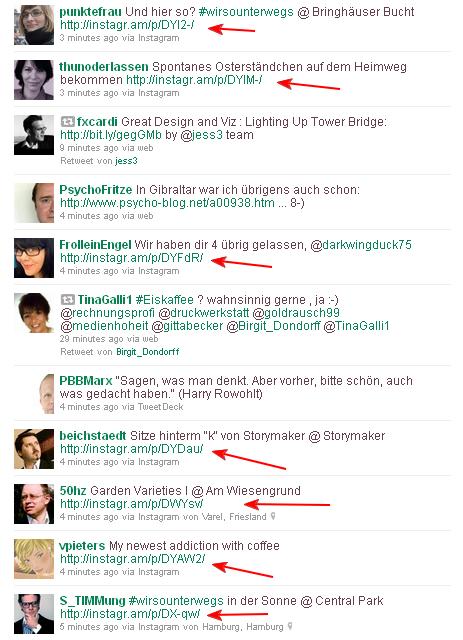 Instagr.am Twitter Timeline