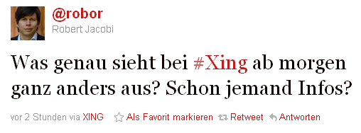Neue Xing Version