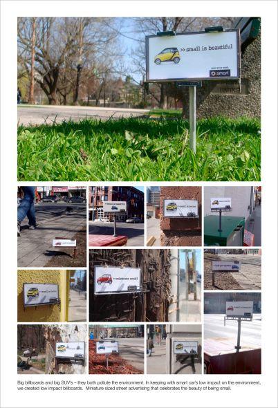 mini billboards smart