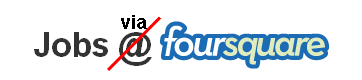 Social Recruiting Foursquare