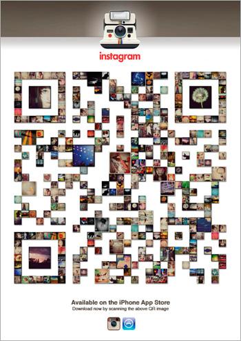 qr code instagram itunes