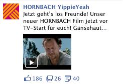 Hornbach Kampagne Facebook