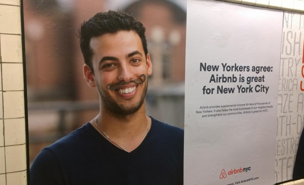 AirBnB Kampagne in New York City