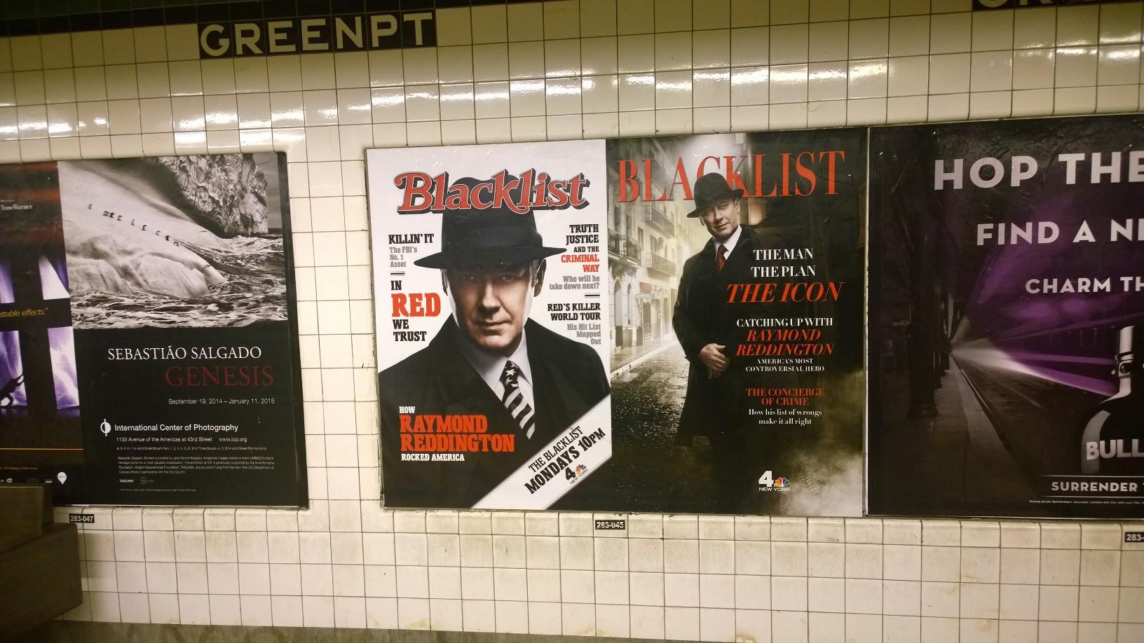 Blacklist Rolling Stone und Fortune Magazine Werbung Metro Brooklyn