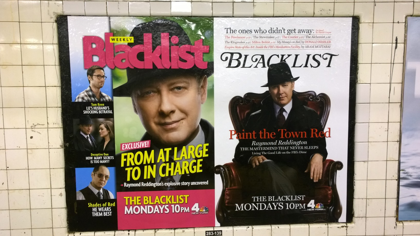New York Magazine und US Weekly Magazine Blacklist Werbung in New Yorker Ubahn