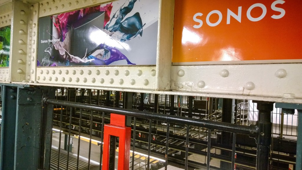 SONOS Ubahn Station Plakate