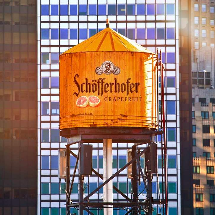 Schöfferhofer Water Tower NYC