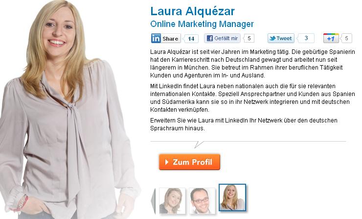 LinkedIn Werbekampagne Deutschland